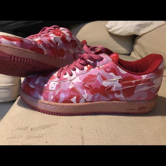 Bape Shoes | Bape Pink Camo Deadstock